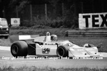 March 761 . Hans Stuck . Photo. Italian GP 1976